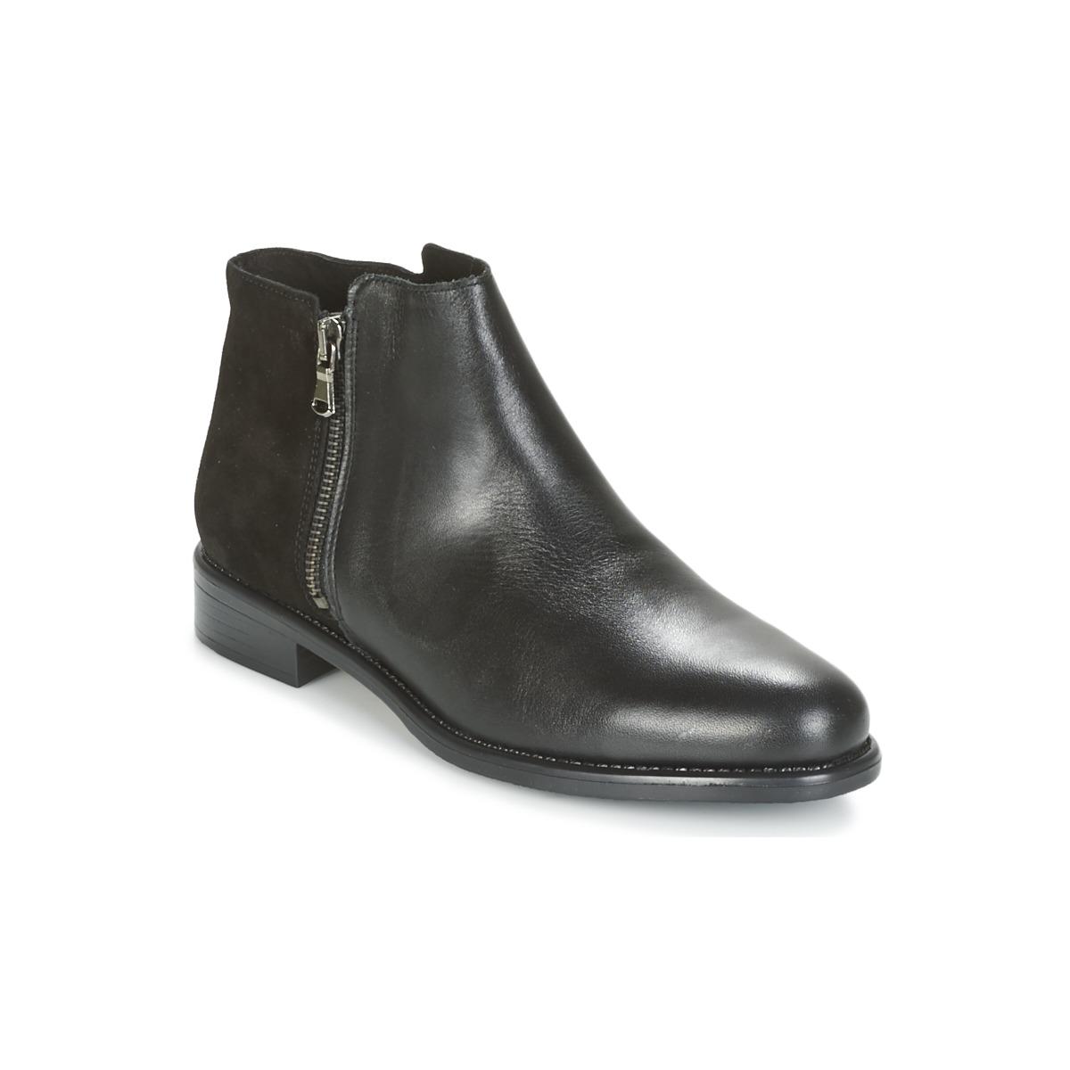 Kotnikove boty Betty London FIANI Černá