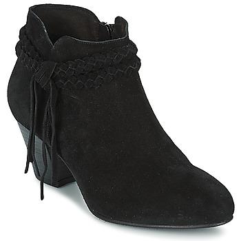 Boty Ženy Polokozačky Betty London CROUTILLE Černá