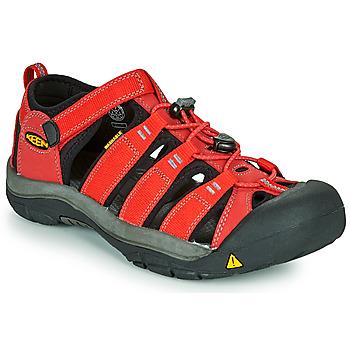 Boty Děti Sportovní sandály Keen NEWPORT H2 Červená