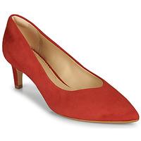 Boty Ženy Lodičky Clarks LAINA55 COURT2 Červená