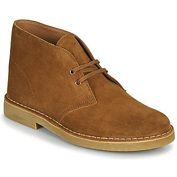 Boty Muži Kotníkové boty Clarks DESERT BOOT 2 Hnědá