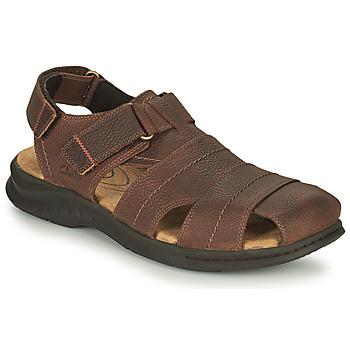 Boty Muži Sportovní sandály Clarks HAPSFORD COVE Hnědá