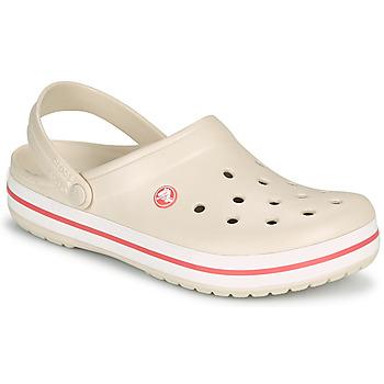 Boty Ženy Pantofle Crocs CROCBAND Béžová / Korálová