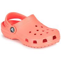 Boty Děti Pantofle Crocs CLASSIC CLOG K Oranžová
