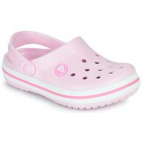 Boty Dívčí Pantofle Crocs CROCBAND CLOG K Růžová