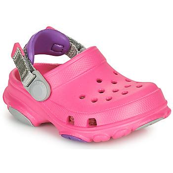 Boty Dívčí Pantofle Crocs CLASSIC ALL-TERRAIN CLOG K Růžová