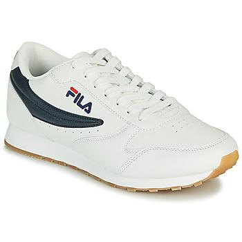 Boty Muži Nízké tenisky Fila ORBIT LOW Bílá / Modrá
