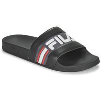 Boty Muži pantofle Fila OCEANO SLIPPER Černá