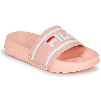 Boty Dívčí pantofle Fila MORRO BAY SLIPPER JR Růžová
