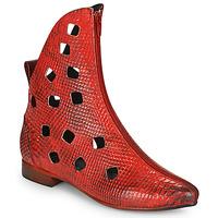 Boty Ženy Kotníkové boty Papucei SAKURA Červená