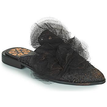 Boty Ženy Dřeváky Papucei WILLOW Černá