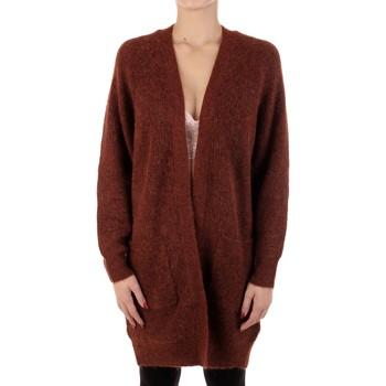 Textil Ženy Svetry / Svetry se zapínáním Selected 16074480 Hnědá