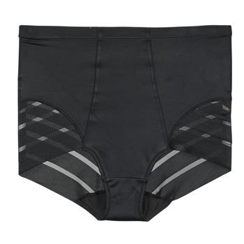 Spodní prádlo  Ženy Kalhotky DIM DIAM'S CONTROL CULOTTE HAUTE Černá