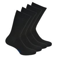 Doplňky  Muži Ponožky DIM MI CHAUSSETTE COTON X4 Černá