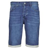Textil Muži Kraťasy / Bermudy Deeluxe BART Modrá