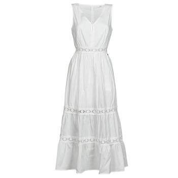 Textil Ženy Krátké šaty Deeluxe MAEL Krémově bílá