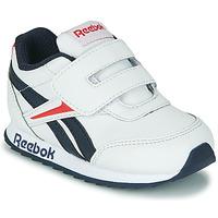Boty Děti Nízké tenisky Reebok Classic REEBOK ROYAL CLJOG 2 KC Bílá / Tmavě modrá / Červená
