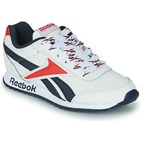 Boty Děti Nízké tenisky Reebok Classic REEBOK ROYAL CLJOG 2 Bílá / Tmavě modrá / Červená