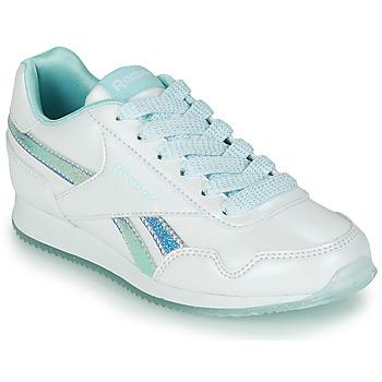 Boty Dívčí Nízké tenisky Reebok Classic REEBOK ROYAL CLJOG 3.0 Bílá / Modrá