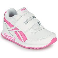 Boty Dívčí Nízké tenisky Reebok Classic REEBOK ROYAL CLJOG 2 KC Bílá / Růžová