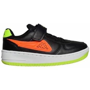 Boty Děti Nízké tenisky Kappa Bash PC K Černé,Zelené,Oranžové
