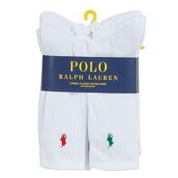 Doplňky  Muži Ponožky Polo Ralph Lauren ASX110 6 PACK COTTON Bílá