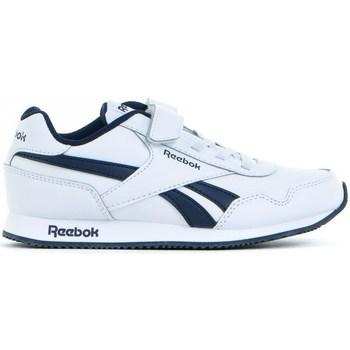 Boty Děti Nízké tenisky Reebok Sport Royal CL Jogger Bílé, Tmavomodré