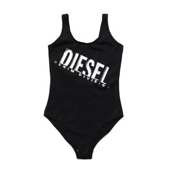 Textil Dívčí jednodílné plavky Diesel MIELL Černá
