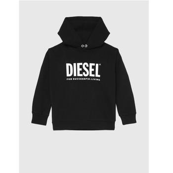 Textil Děti Mikiny Diesel SDIVISION LOGO Černá