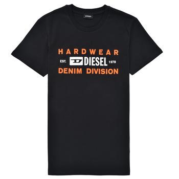 Textil Chlapecké Trička s krátkým rukávem Diesel TDIEGOSK32 Černá