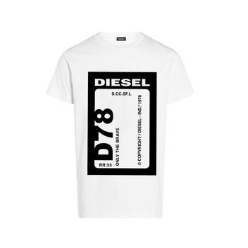Textil Chlapecké Trička s krátkým rukávem Diesel TFULL78 Bílá