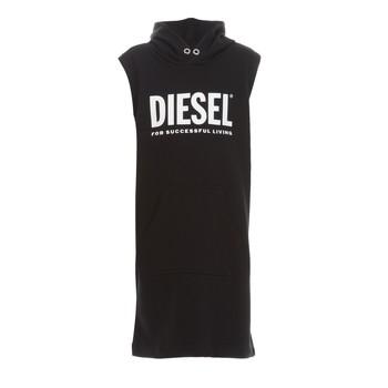 Textil Dívčí Krátké šaty Diesel DILSET Černá