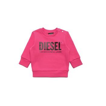 Textil Dívčí Mikiny Diesel SCREWDIVISION LOGOB Růžová