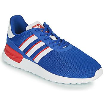 Boty Děti Nízké tenisky adidas Originals LA TRAINER LITE J Modrá / Bílá