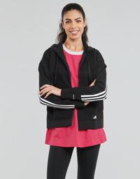 Textil Ženy Mikiny adidas Performance W Knit V Hoodie Černá