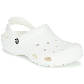 Boty Pantofle Crocs COAST CLOG WHI Bílá