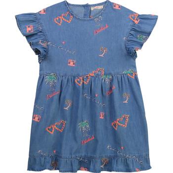 Textil Dívčí Krátké šaty Billieblush / Billybandit U12640-Z10 Modrá