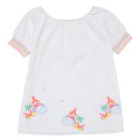 Textil Dívčí Krátké šaty Billieblush / Billybandit U12657-10B Bílá