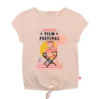 Textil Dívčí Trička s krátkým rukávem Billieblush / Billybandit U15852-44F Růžová