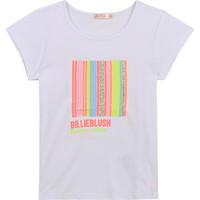 Textil Dívčí Trička s krátkým rukávem Billieblush / Billybandit U15857-10B Bílá