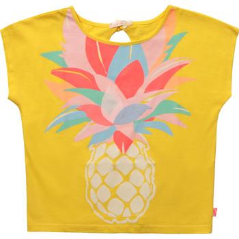 Textil Dívčí Trička s krátkým rukávem Billieblush / Billybandit U15873-548 Žlutá