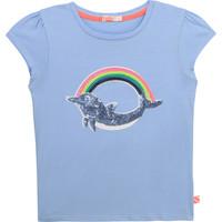 Textil Dívčí Trička s krátkým rukávem Billieblush / Billybandit U15875-798 Modrá