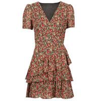 Textil Ženy Krátké šaty Moony Mood ORNAMA Červená