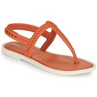 Boty Ženy Žabky Melissa FLASH SANDAL & SALINAS Oranžová / Béžová