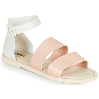 Boty Ženy Sandály Melissa MELISSA MODEL SANDAL Bílá / Růžová