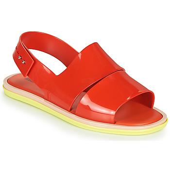 Boty Ženy Sandály Melissa CARBON Červená