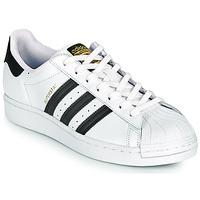 Boty Nízké tenisky adidas Originals SUPERSTAR Bílá / Černá