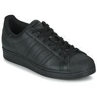 Boty Nízké tenisky adidas Originals SUPERSTAR Černá