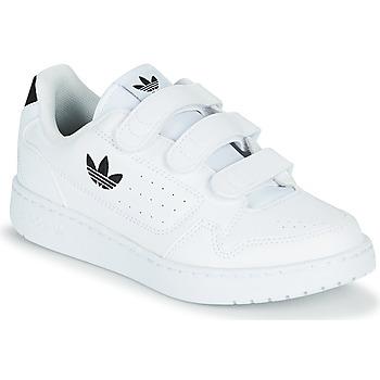 Boty Děti Nízké tenisky adidas Originals NY 92  CF C Bílá / Černá