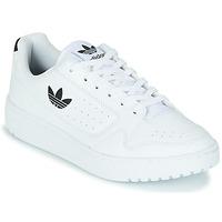 Boty Děti Nízké tenisky adidas Originals NY 92 J Bílá / Černá